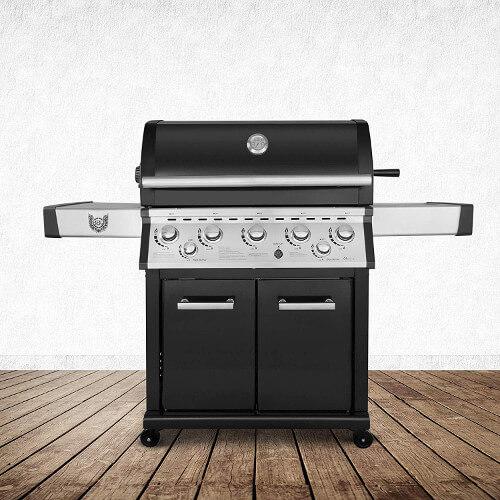 "Gasgrill Helio 5+1 der Marke ""BBQ Chief"""