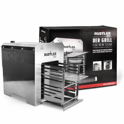Rustler 800 Hochleistungsgrill - Oberhitze Gasgrill