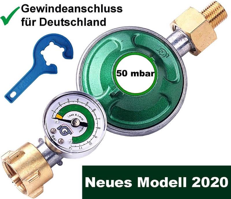 Gasdruckregler 50 mbar