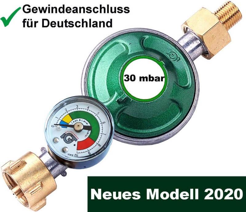 Gasdruckregler 30 mbar
